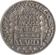 Token - Mickey Mouse Club – reverse