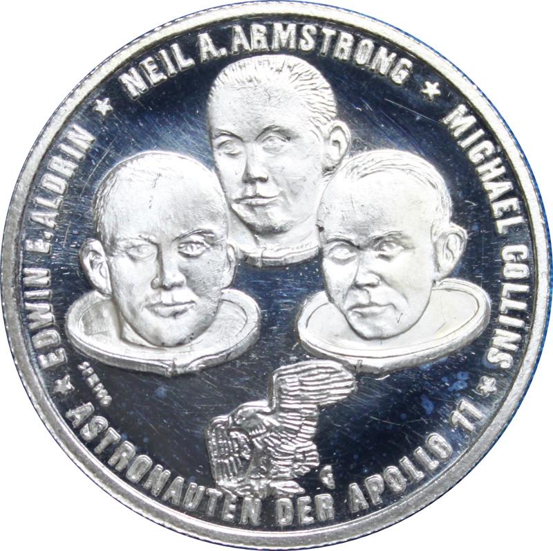 apollo xi commemorative token - photo #12