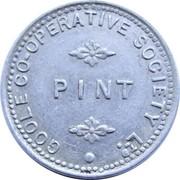 Pint - Goole Co-operative Society – obverse