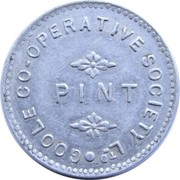 Pint - Goole Co-operative Society – reverse