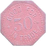 50 Cents - O. Paape (South Saint Paul, Minnesota) – reverse
