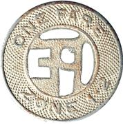 1 Fare - Pacific Electric Railway Co. – reverse