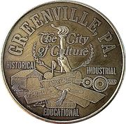 Token - Greenville, PA. – obverse