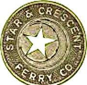 1 Fare - Star & Crescent Ferry Co. (San Diego, California) – obverse