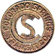 1 Fare - Colorado Springs Transit Co. (Colorado Springs, CO) – obverse