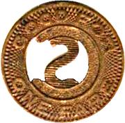 1 Fare - Colorado Springs Transit Co. (Colorado Springs, CO) – reverse