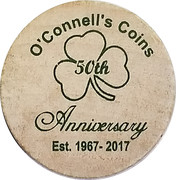 Wooden Nickel - O'Connell's Coins – obverse