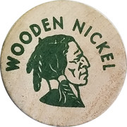 Wooden Nickel - O'Connell's Coins – reverse