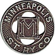 1 Fare - Minneapolis St. Ry. Co. (Minneapolis,MN) – obverse