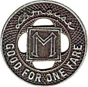 1 Fare - Minneapolis St. Ry. Co. (Minneapolis,MN) – reverse