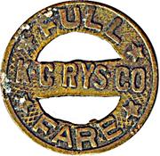 1 Full Fare - K.C. Rys. Co (Kansas City, Missouri) – obverse
