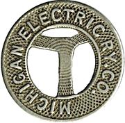 1 Fare - Michigan Electric Ry. Co. – obverse