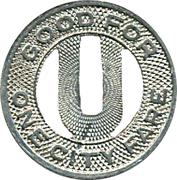 1 City Fare - Utica Lines, N.Y.S. Rys. – reverse
