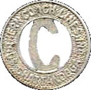 1 Fare - Southern Coach Lines, Inc. (Chattanooga) – obverse