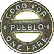 1 Fare - Southern Colorado Power Co. (Pueblo, Colorado) – reverse