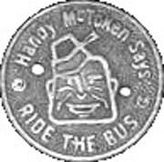 1 Fare - Topeka Transportation Co. Inc. (Topeka, Kansas) – obverse