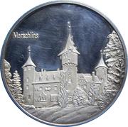 Medallion - Castles of Graubünden (Marschlins) – obverse