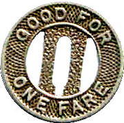 1 Fare - Connecticut Company (New Haven, Connecticut) – reverse