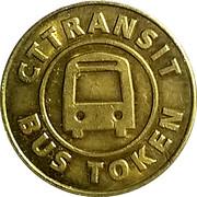 Bus Token - CT Transit – obverse
