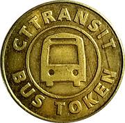 Bus Token - CT Transit – reverse