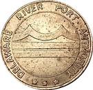 Token - Delaware River Port Authority (Camden, New Jersey) – obverse
