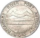 Token - Delaware River Port Authority (Camden, New Jersey) – reverse