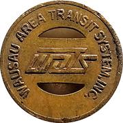1 Fare - Wausau Area Transit System, Inc. (Wausau,  Wisconsin) – obverse