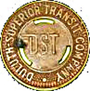 1 School Fare - Duluth Superior Transit Co. – obverse