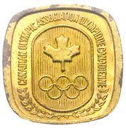 Token - Canadian Olympic Association (Basketball) – reverse