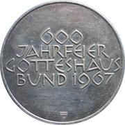 Medallion - 600 Year celebration Graubünden House of God – reverse