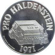 Medallion - Haldenstein Castle – obverse