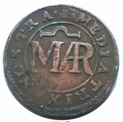 Méreau (Médiatrix nostra) – obverse
