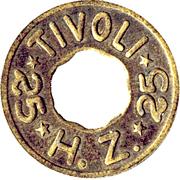 25 Øre - H. Z. Tivoli – obverse