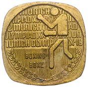 Token - Canadian Olympic Association (Boxing) – obverse