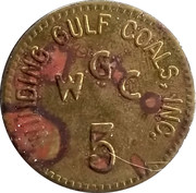 5 Cents - Winding Gulf Coals, Inc. (Dayton, O.) – obverse