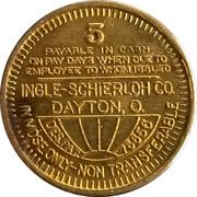 5 Cents - Winding Gulf Coals, Inc. (Dayton, O.) – reverse