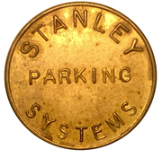 Parking Token - Stanley Parking Systems – obverse