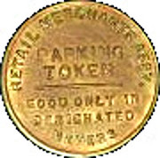 Parking Token -  Hutchinson National Agent Bank and Trust Company – reverse