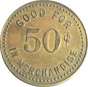 50 Cents - W. J. Schwartz – reverse