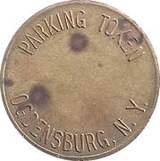 Parking Token - Ogdensburg, NY – obverse