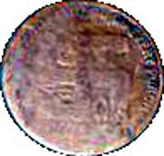 1 Dollar - Eagle Shoe & Clothing Co. (Topeka, Kansas) – reverse