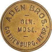 50 Cents - Aden Bros. Gen. Mdse. – obverse