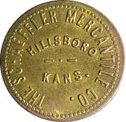 1 Dollar - The Schaeffler Mercantile Co. (Hillsboro,  Kansas) – obverse