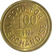 1 Dollar - The Schaeffler Mercantile Co. (Hillsboro,  Kansas) – reverse