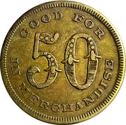 50 Cents - The Kelly Farmers Union – reverse