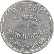 50 Cents - C.C. Aby – obverse