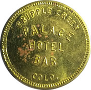 1 Shot of Red Eye - Palace Hotel Bar – obverse