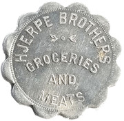 1 Dollar - Hjerpe Brothers – obverse