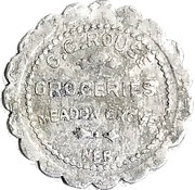 1 Dollar - Rouse Groceries – obverse