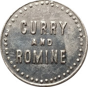 1 Dollar - Curry and Romine – obverse